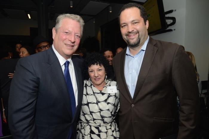 Al Gore, Freada Kapor Klein, Ben Jealous