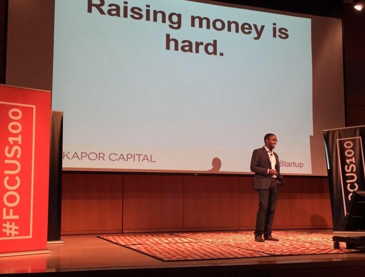 Kapor Capital Associate Brian Dixon at Focus100 Conference